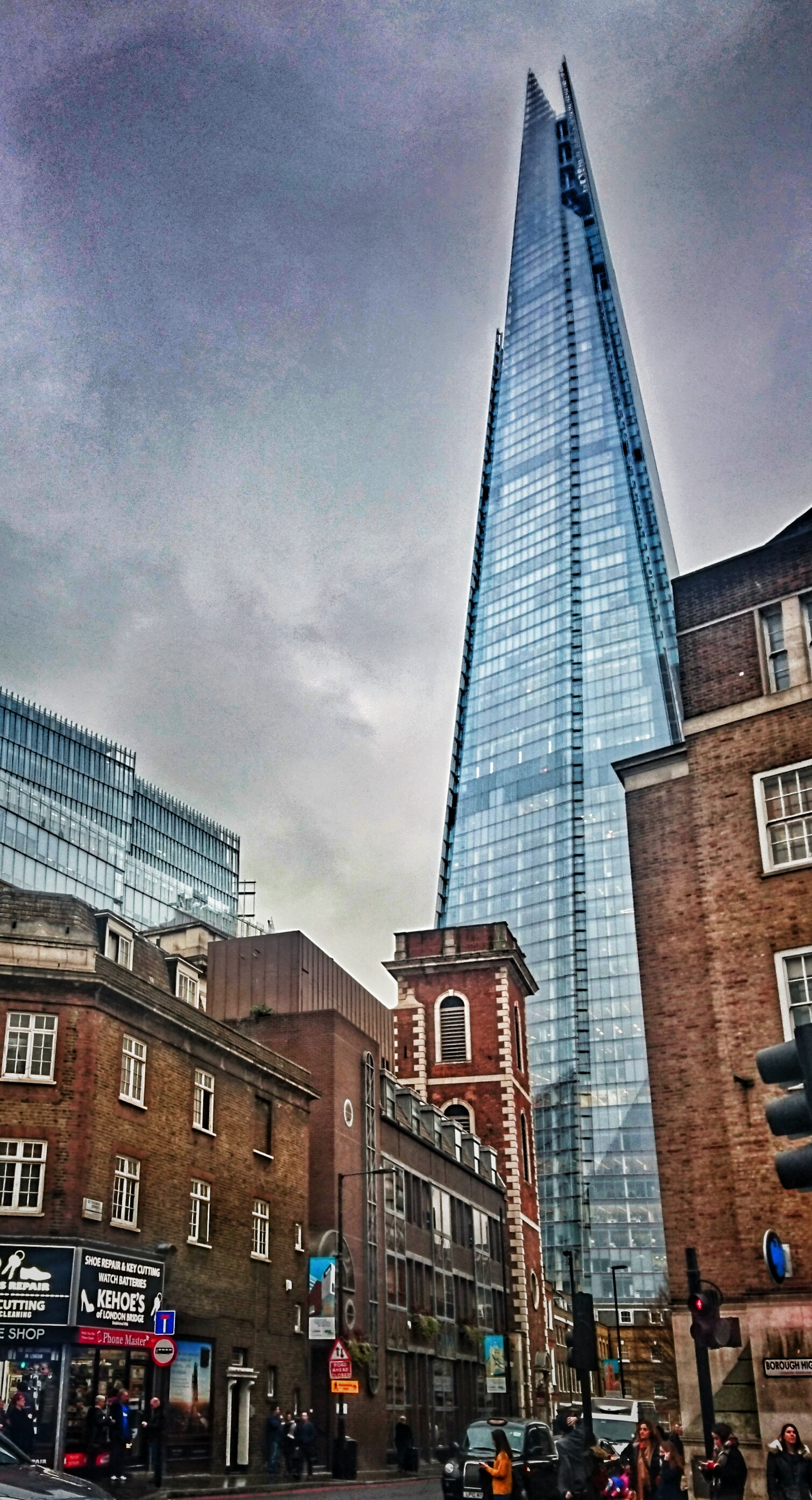 The Shard, London. Foto: Jan Graber, 2016