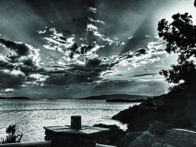 Explosiv. Wolken und Licht, Foto: Jan Graber, 2018.
