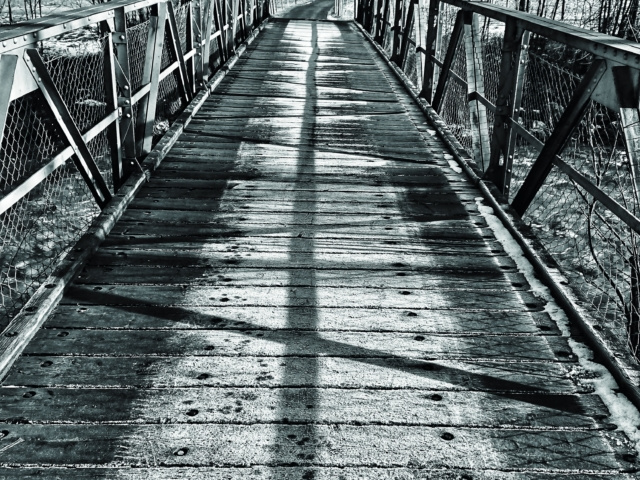 Brücke in Zweisimmen. Foto: Jan Graber, 2018.