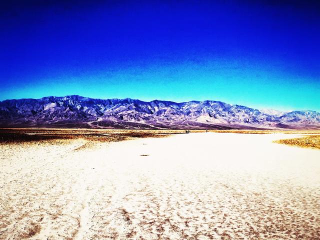 Badwater Basin, Death Valley, Kalifornien, USA. Foto: Jan Graber, 2014.