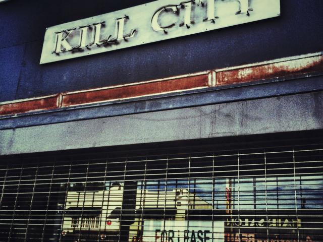 Shop an der Melrose Avenue, Los Angeles, USA. Foto: Jan Graber, 2014.