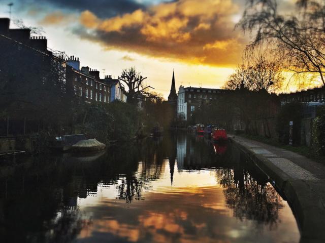 Regent's Canal bei Camden Town, London. Foto: Jan Graber, 2015.