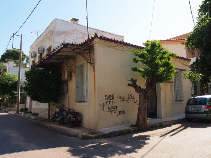 Altes, traditionelles Haus in Kifissia, Athen. Foto: jag, 2017.