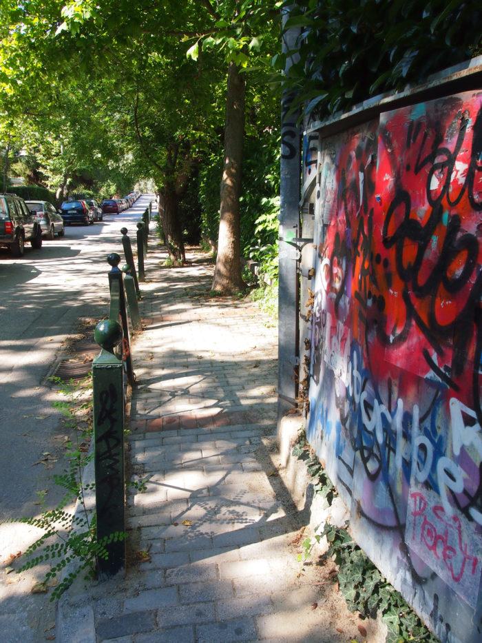 Graffiti in Kifissia, Athen. Foto: jag, 2017.