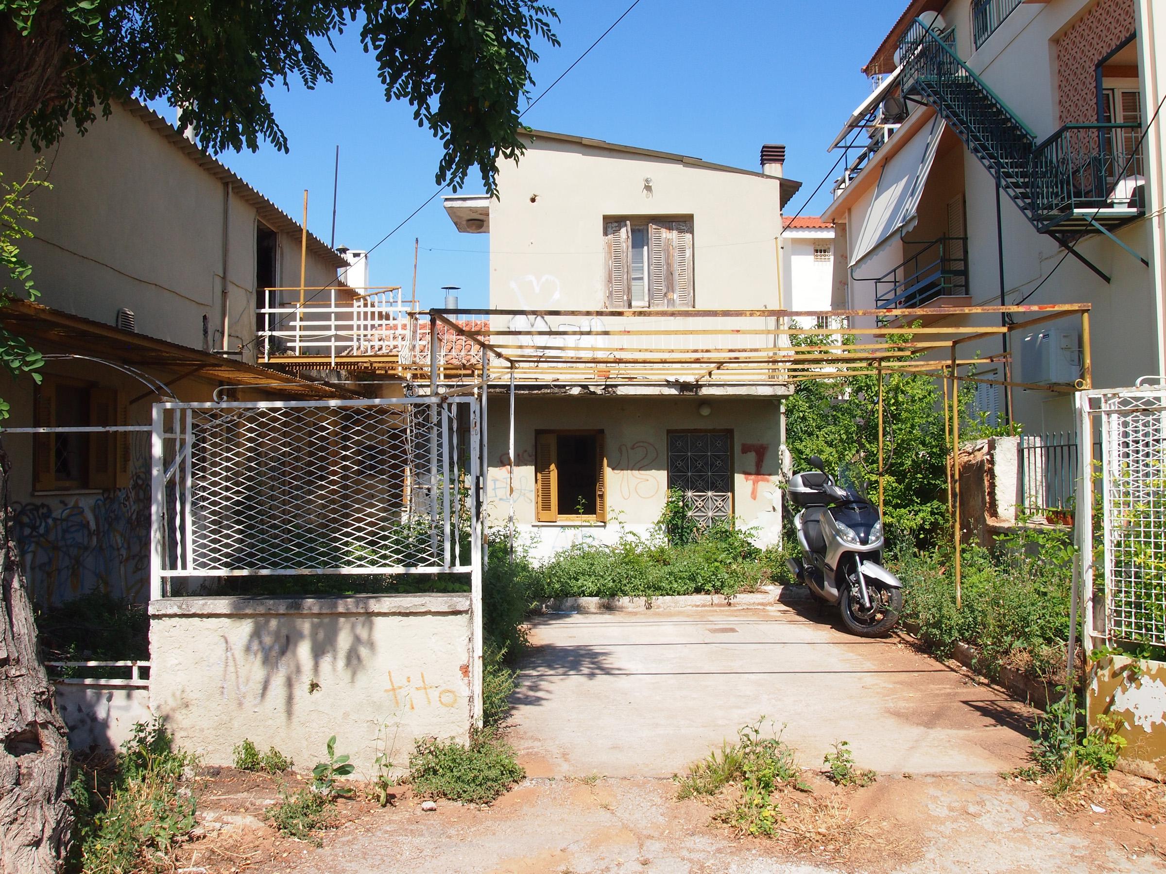 Traditionelles Häuschen in Kifissia, Athen. Foto: jag, 2017.
