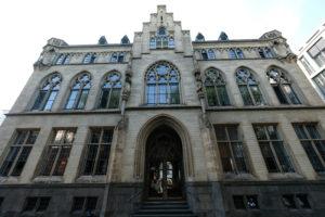 Mächtig gastfreundlich: das QVEST ist im ehemaligen Stadtarchiv Kölns zuhause. Foto: Jan Graber