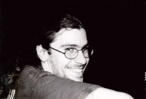 Martin während des Umbaus des Nachtklubs Luv, Zürich, 1994. Foto: Jan Graber.