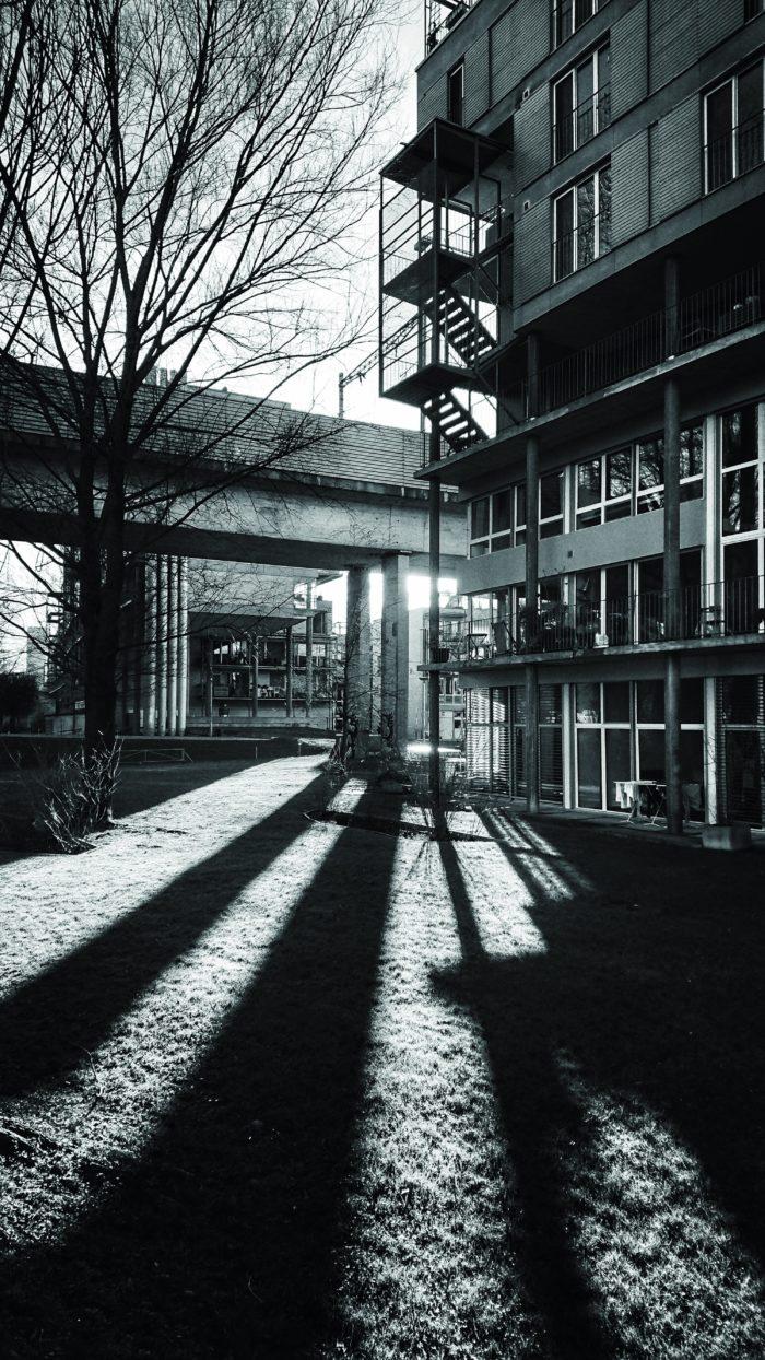 Lichtstrahl. Foto: Jan Graber, 2018.