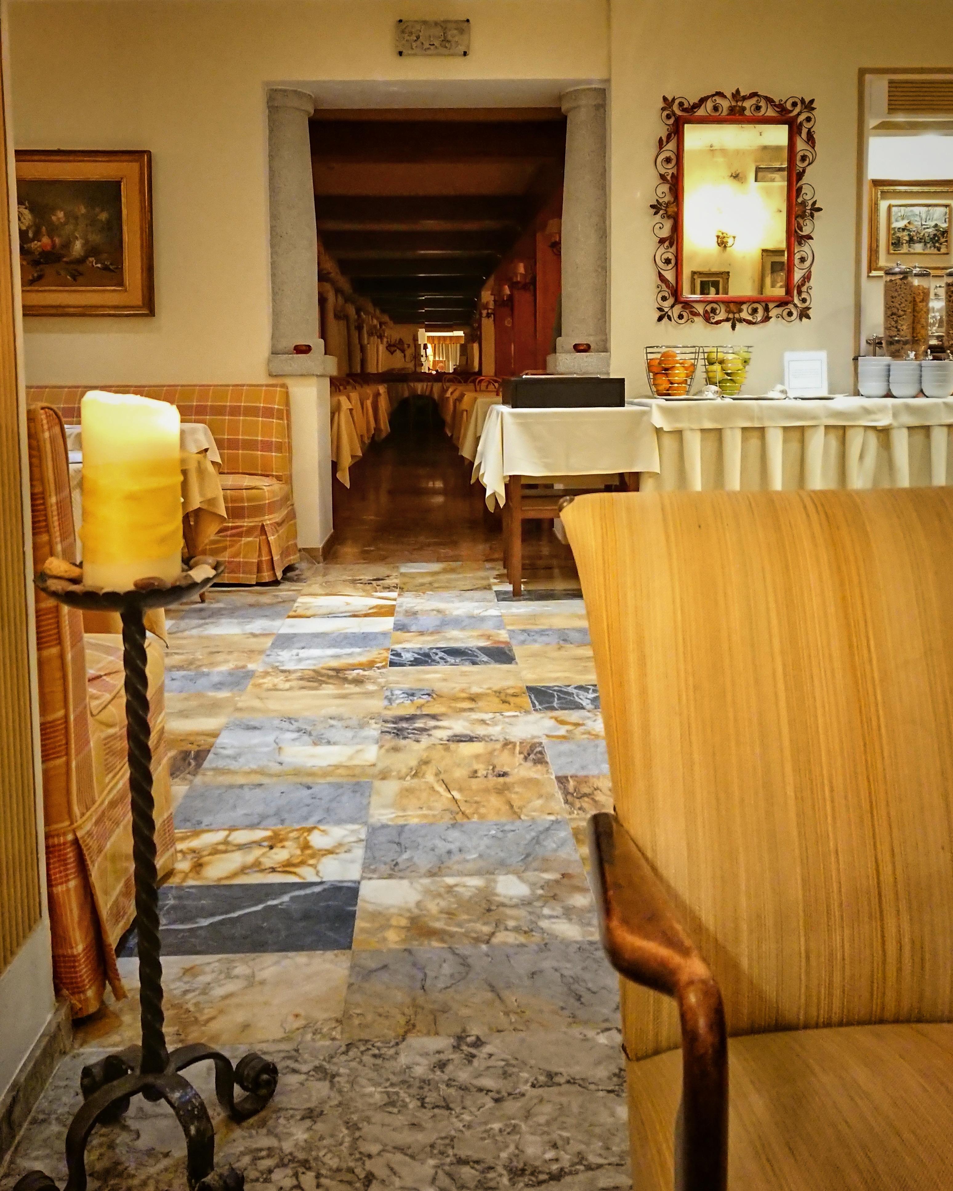 Tiefe: Hotel Stella d'Italia. Foto: Jan Graber.