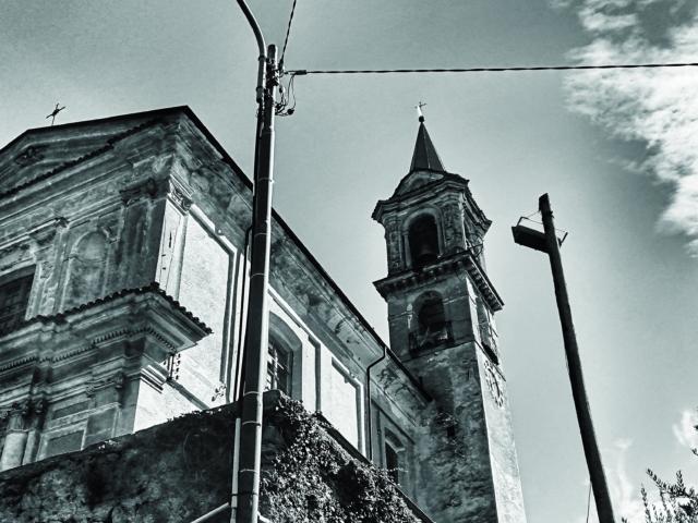 Erleuchtung: Kirche in Valsolda. Foto: Jan Graber.