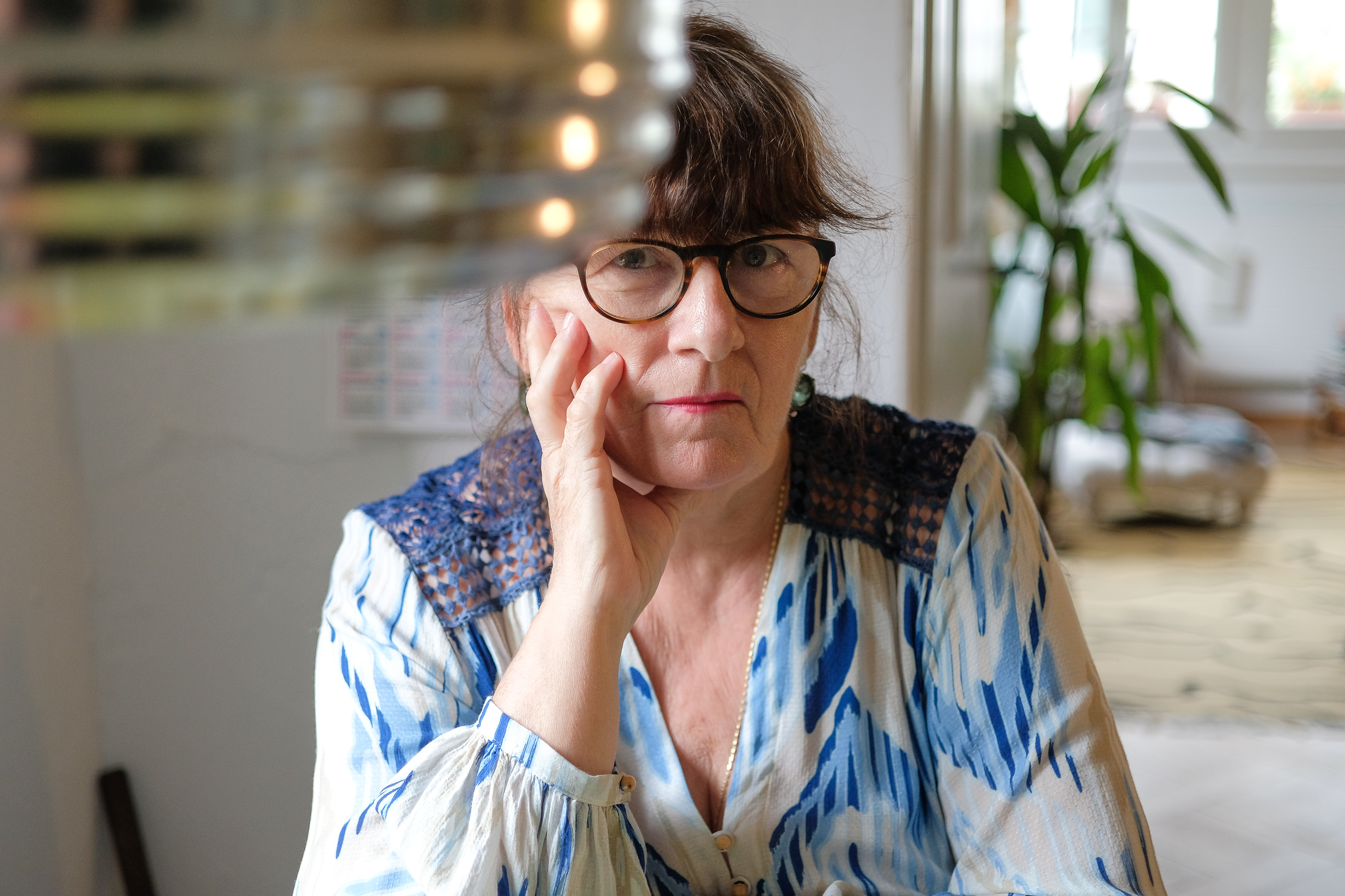 Christine Domkowski. Foto: Jan Graber, 2018.