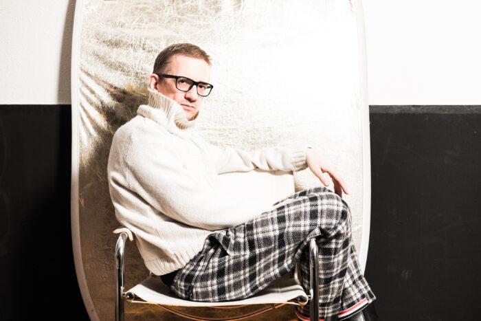 Selbstbewusster Exzentriker. Foto: Jan Graber.