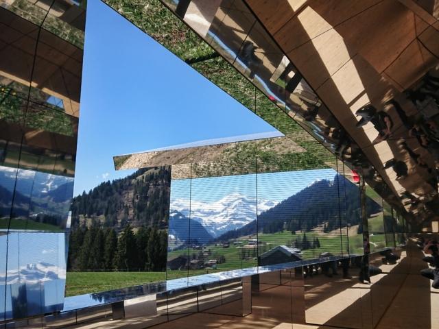 Spiegelkabinett II. «Mirage» von Doug Aitken. Foto: jag, 2019.